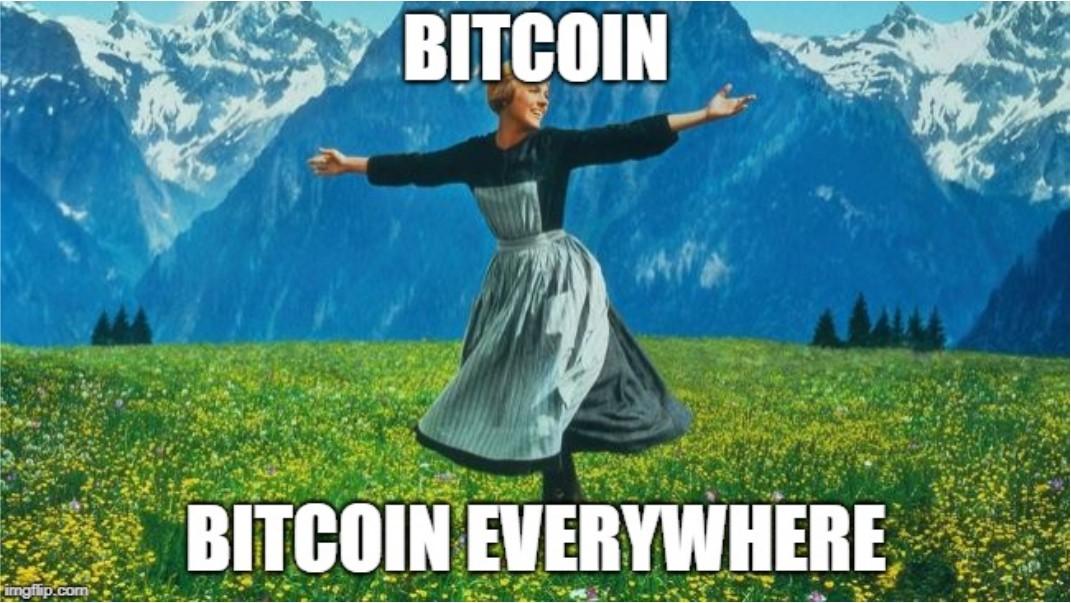 bitcoin everywhere cryptocurrency crypto
